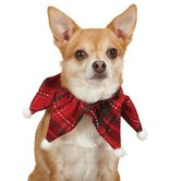 Yuletide Tartan Scrunchy Dog Neckware