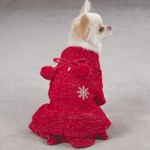 Christmas Pagent Dog Dress in Red