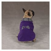 Ultra Violet Houndstooth Dog Coat
