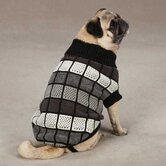 Chenille Block Pet Sweater