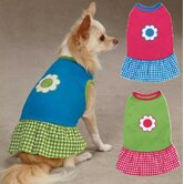 Gingham Sweeties Dog Dress