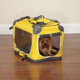 XX-Small Pioneer Soft Dog Crate in Yellow