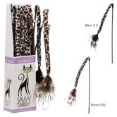Wild Time Feather Wand Display Cat Toy (Set of 12)
