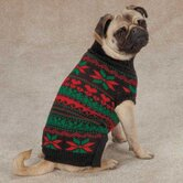 Classic Holiday Dog Sweater