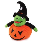 Large Cackle Patch Witch Dog Toy