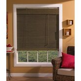 "Imperial Matchstick Bamboo Roll-Up Blind with 6"" Valance in Willow"