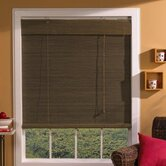Imperial Matchstick Bamboo Roller Blind with Valance