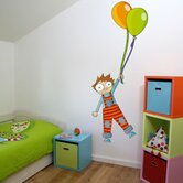 Ludo Boy Height Gauge Wall Decal