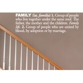 Blabla Family (English) Wall Decal