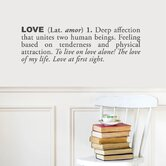Blabla Love (English) Wall Decal