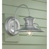 Budapest One Light Outdoor Wall Sconce