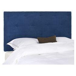 Martin Upholstered Headboard in Blue