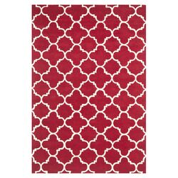 Chatham Red & Ivory Rug