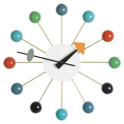 Nelson Rainbow Wall Clock