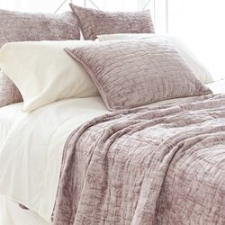 Manor Linen Pillow in Gray
