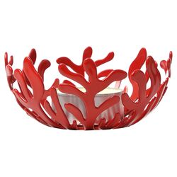 Mediterraneo Tealight Candle Holder in Red