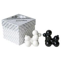 Poodles Salt & Pepper Shakers in Black & White