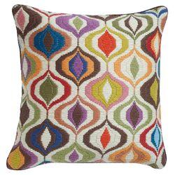 Jonathan Adler Bargello Waves Throw Pillow