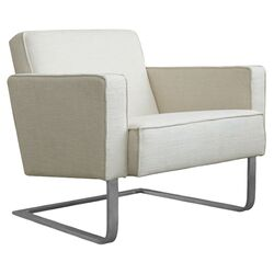 High Park Arm Chair in Cabana Husk