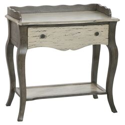 Shefield Distressed Console Table in Grey