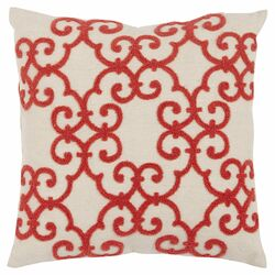 Sonya Pillow in Coral (Set of 2)