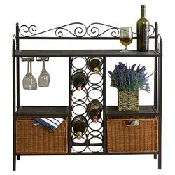 Scout Scrolled Bistro Server in Gunmetal Grey