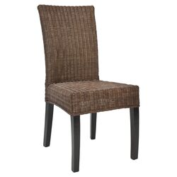 Charlotte Parsons Chair in Brown (Set of 2)