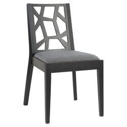 Elizabeth Side Chair in Gray (Set of 2)