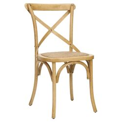Eleanor Side Chair in Weathered Oak (Set of 2)