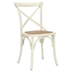 Eleanor Side Chair in Antique White (Set of 2)