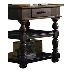 Paula Deen Down Home End Table In Molasses