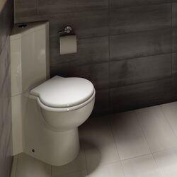 evolution luxury polyester toilet seat wayfair uk. Black Bedroom Furniture Sets. Home Design Ideas