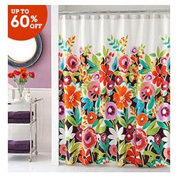Spring Showers: Floral Bathroom