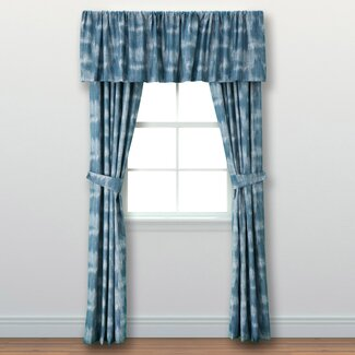 Curtain Panels with Valence