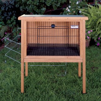 Precision Pet Products Medium Rabbit Hutch