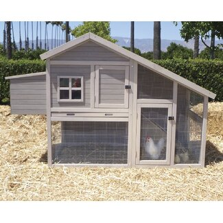 Precision Pet Products Extreme Cape Cod Chicken Coop with Nesting Box and Roosting Bar