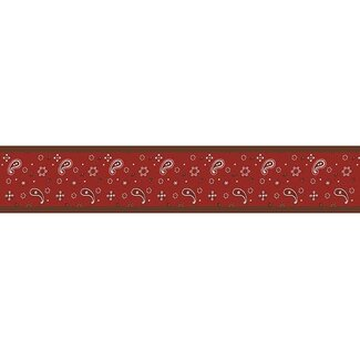 Sweet Jojo Designs Wild West Cowboy Collection Wall Paper Border  - Bandana Print