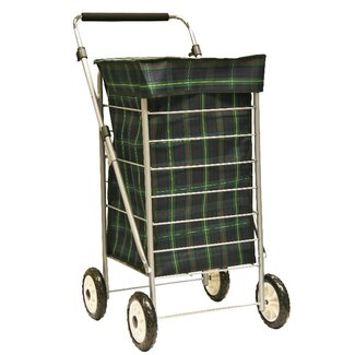 Sabichi 4 Wheel Shopping Trolley
