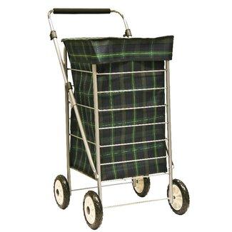 Sabichi 4 Wheel Shopping Trolley