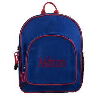 Princess Linens Doodlebugz Crayola Backpack in Blue / Red