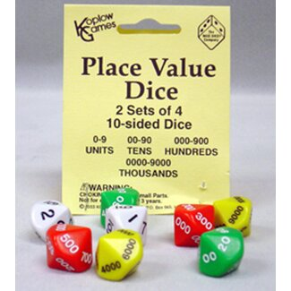 Koplow Games Inc Place Value Dice