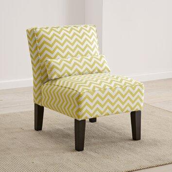 Skyline Furniture Zig Zag Slipper Chair Reviews Wayfair