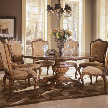 Villa cortina 7 piece dining set wayfair - Universal furniture dining room set ...