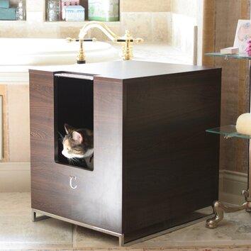 Modern Cat Designs Hider Cat Litter Box Reviews Wayfair