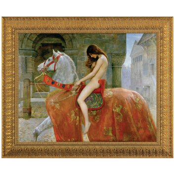 Lady Godiva By John Collier Framed Painting Print Wayfair