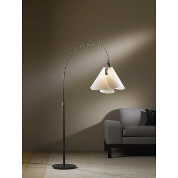 Hubbardton forge mobius arc floor lamp reviews wayfair for Wayfair wood floor lamp