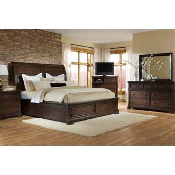 Crystal Ridge Sleigh Bedroom Collection Wayfair