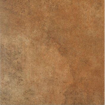 Stone age 18 x 18 glazed ceramic field tile in lava for Lamosa tile suppliers