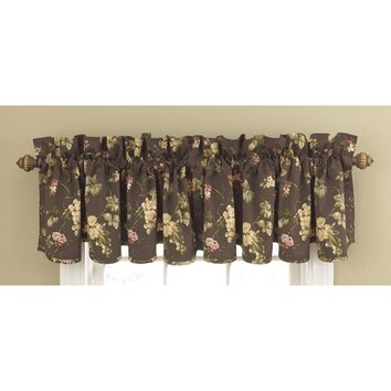 Waverly Napoli 50 Curtain Valance Reviews Wayfair