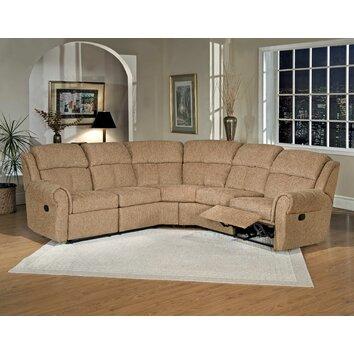 Serta upholstery reclining sectional amp reviews wayfair